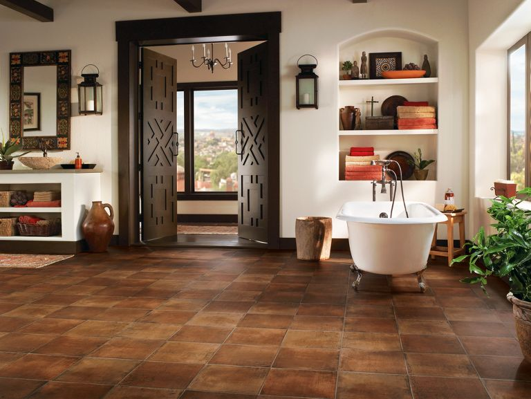 Saltillo Tile Floors Keith Clay Floors Dallas Texas